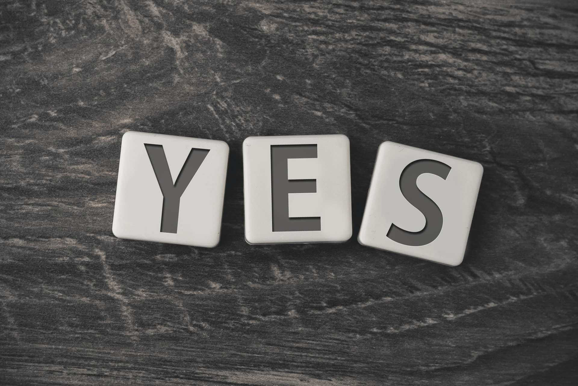 Ways to Say YES